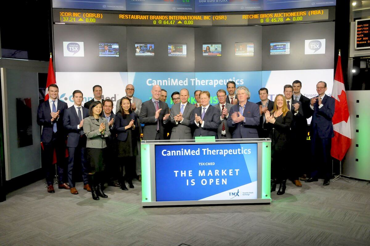 PFM CIO Opens Market with Cannimed
